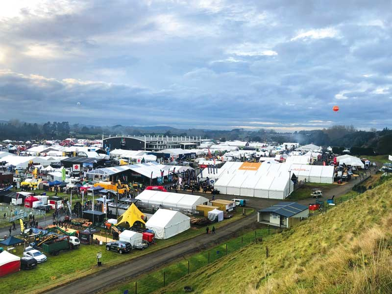 the New Zealand Agricultural Fieldays 2019
