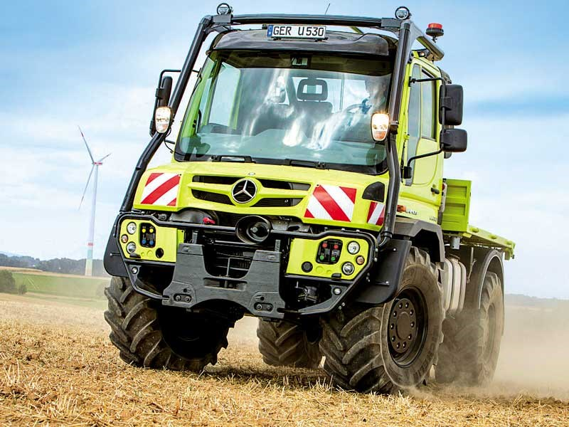 Agritechnica 2019 preview Mercedes Unimog