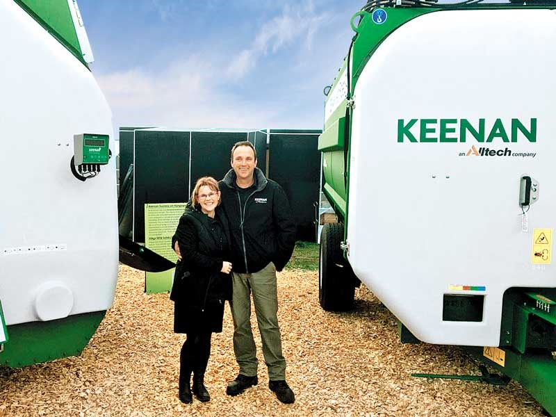 Bernice and Jon Kimber from JK Engineering and the Keenan brand