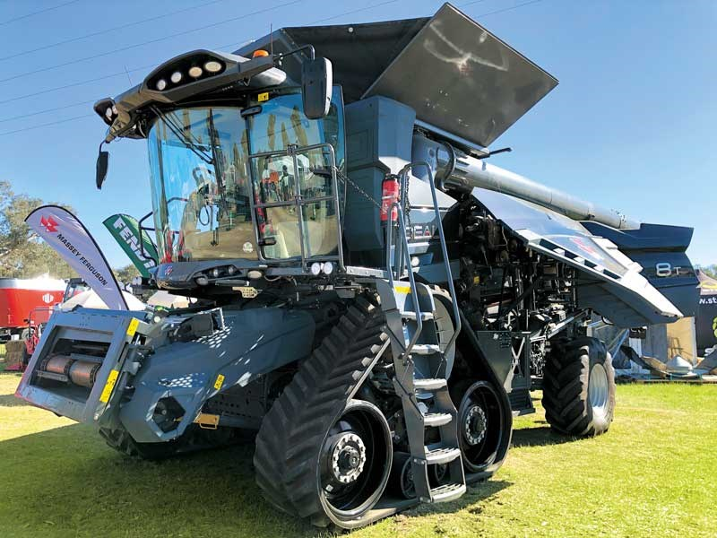 Big machinery on display at Henty Machinery Field Days in Australia