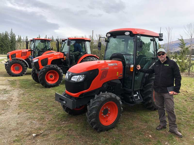 Brent Lilley reports on Kubota s new M7 2 and M5 1 tractors