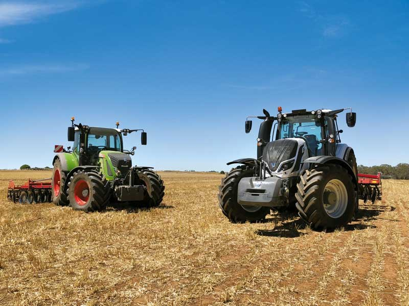Double trouble Valtra T234 and Fendt 720 S4