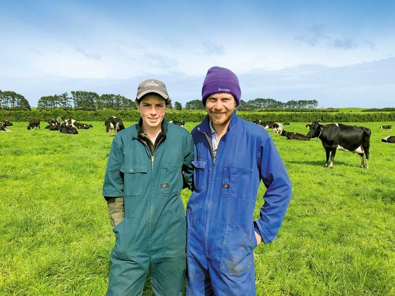 Growing their farm with confidence Hollie Whan and Owen Clegg