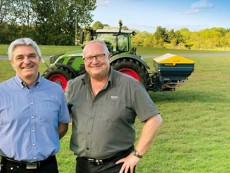 Nils Laursen Bogballe and Dave Donnelly Origin Ag