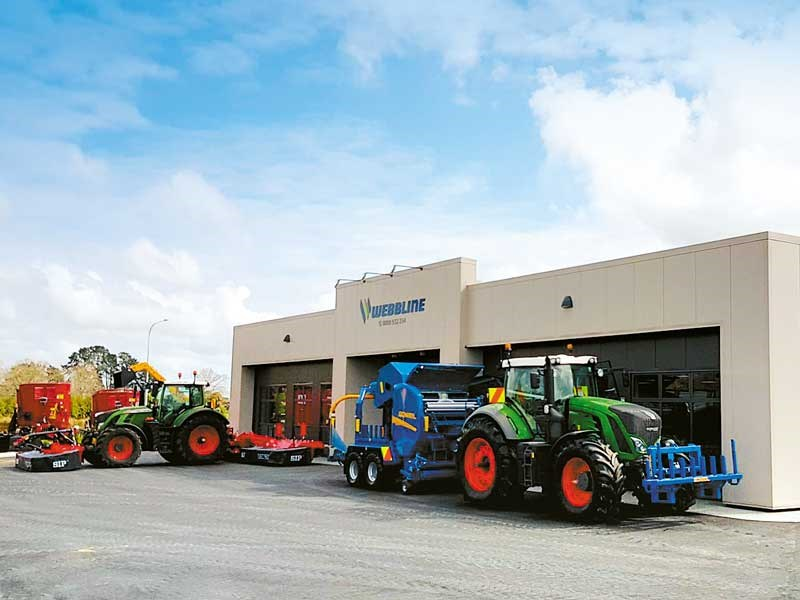 Webbline Agriculture open its new Waikato showroom and workshop