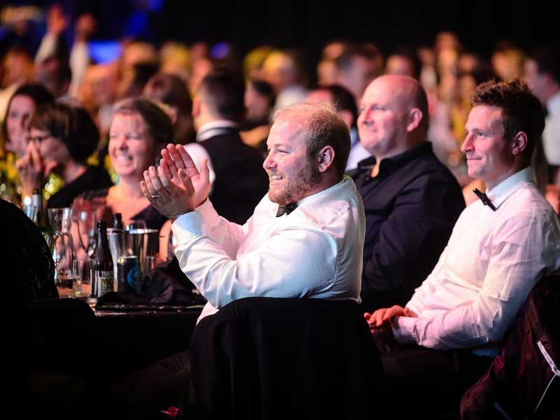 NZ Dairy Industry Awards smiling Wellington 2019