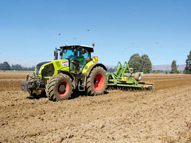 Claas Axion 830 CMATIC review