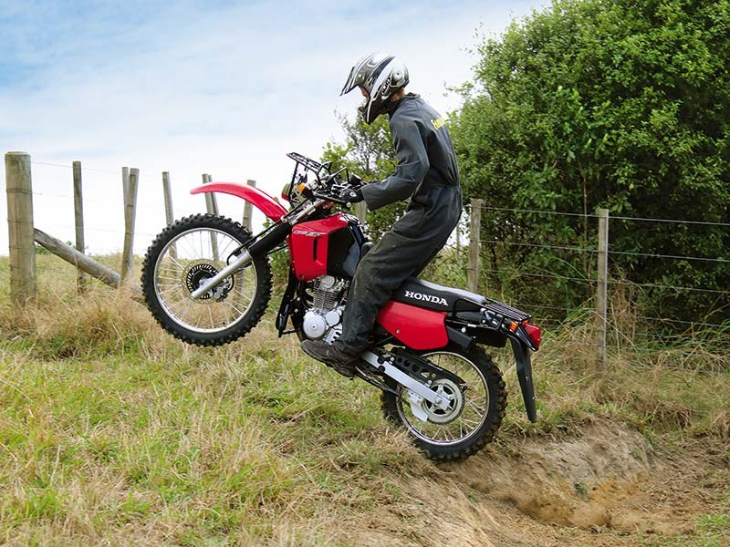 Farm bike review: Honda CTX200