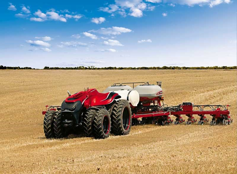 Autonomous tractor offers glimpse of the future