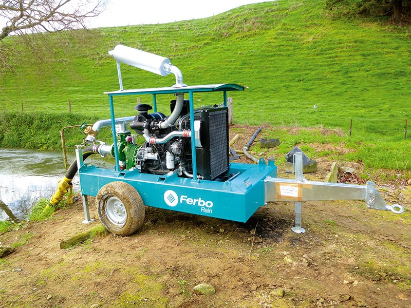 Pasture care: Ferbo Diesel Pumps