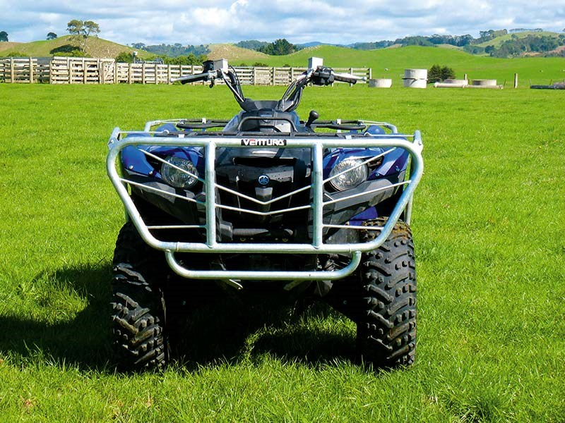 Quad bike review: Yamaha Grizzly 550