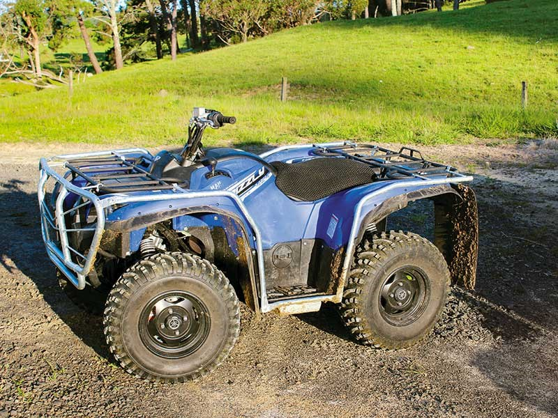 Yamaha Grizzly 700 review
