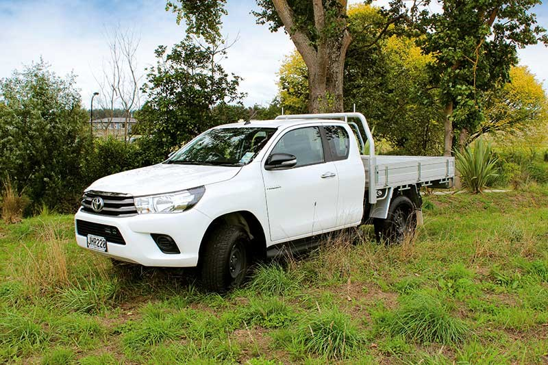 Toyota Hilux SR ute review