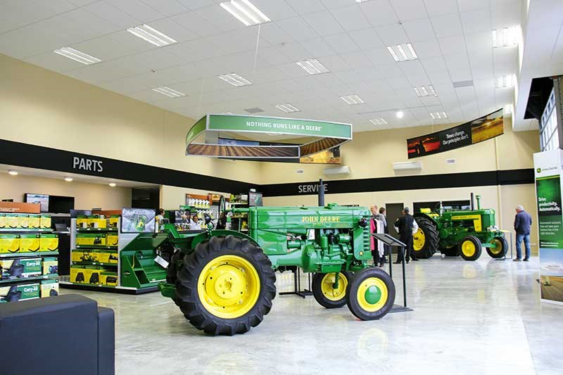 A new central hub for John Deere