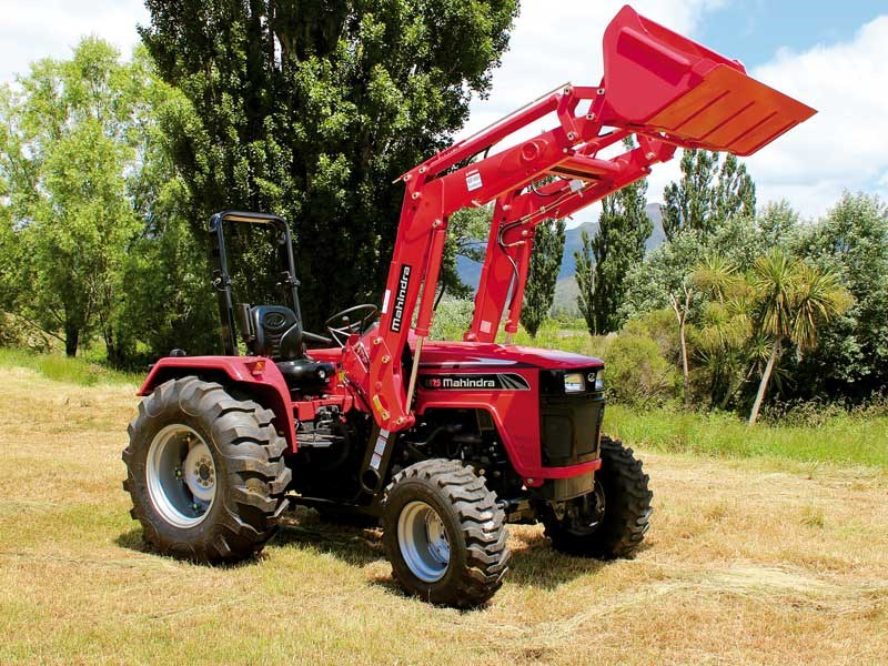 Mahindra 4025 tractor review