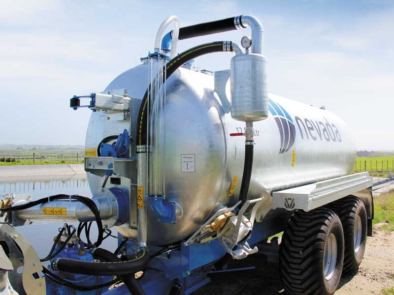 Nevada tanker 12800 litre tanker review