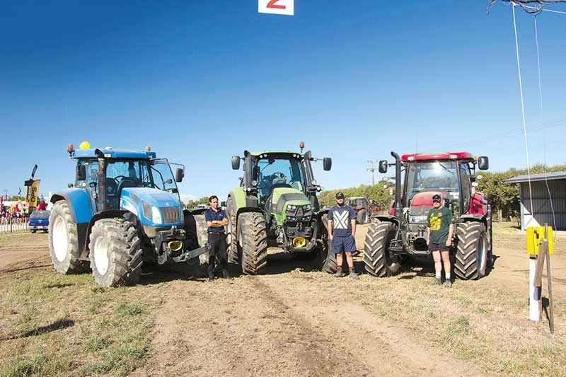 Northland Field Days tractor pull results