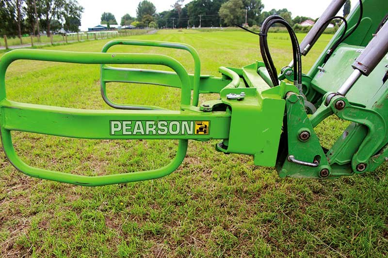 Pearson wrapped bale clamp
