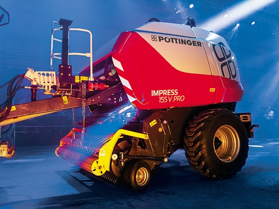 Machine launch: Pottinger Impress 185VC Pro baler wrapper
