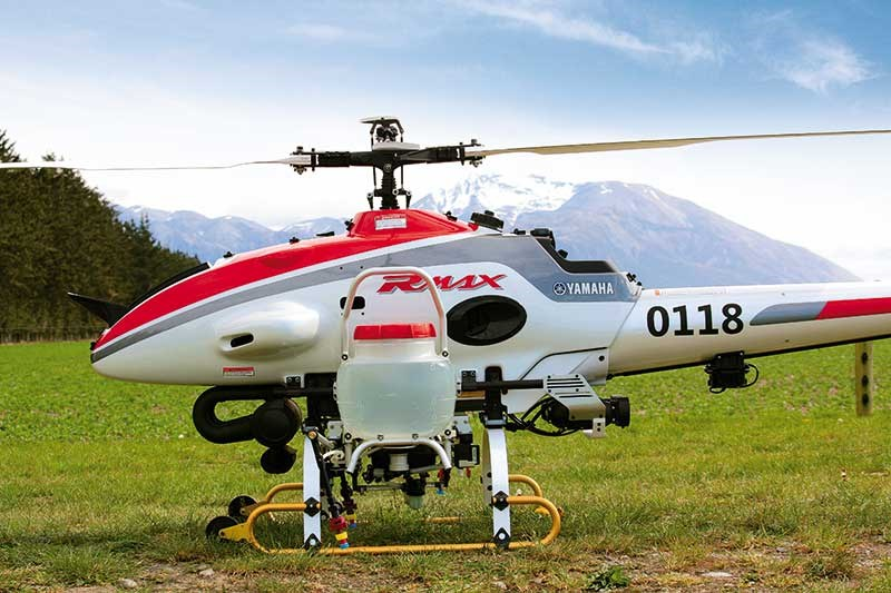 Future farming: unmanned helicopters