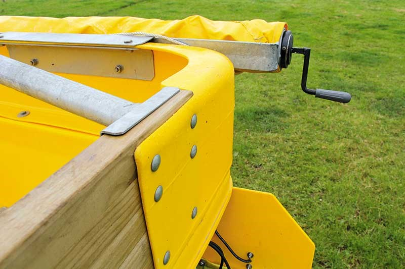 SAM six tonne spreader review