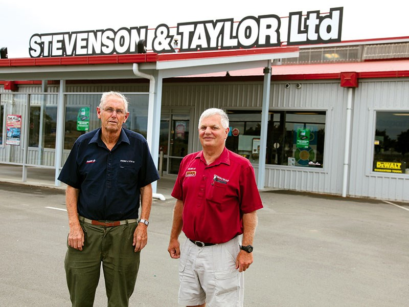Farm maintenance: Stevenson and Taylor