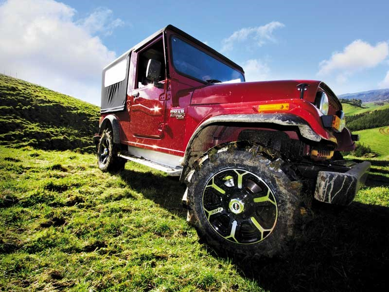 Mahindra Thar CRDe review