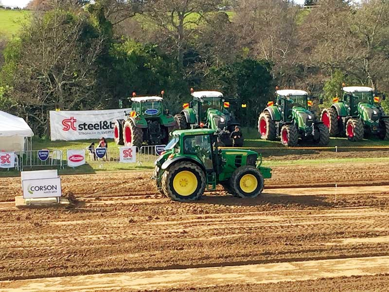 Ohaupo and Fieldays tractor-pull results 2015