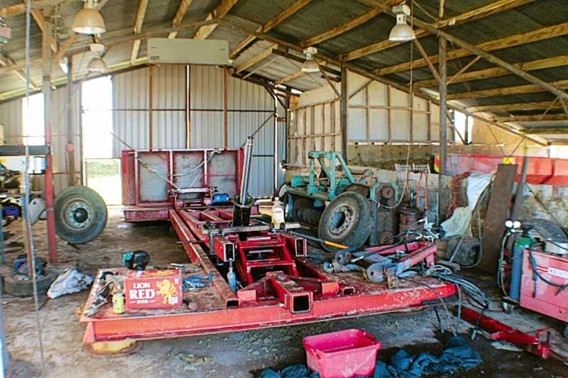 The evolution of the Central Tractorpull sledge