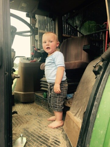WIN a tractor for the smallest person in your house