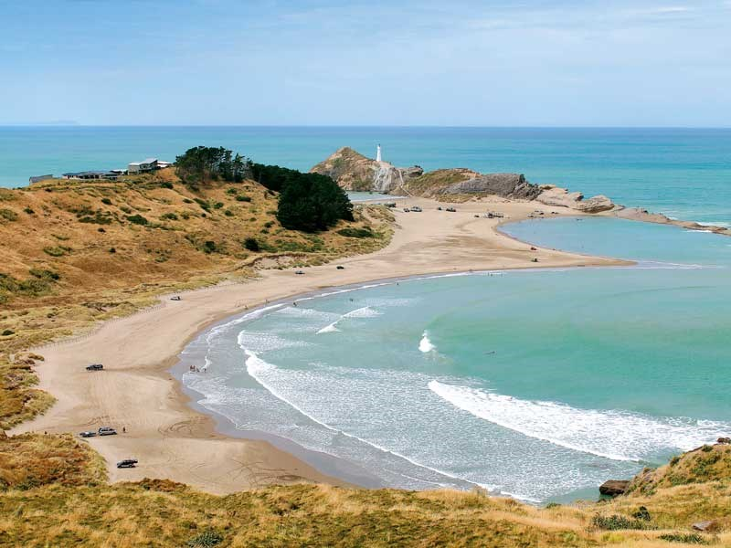 Explore Castlepoint station by bike