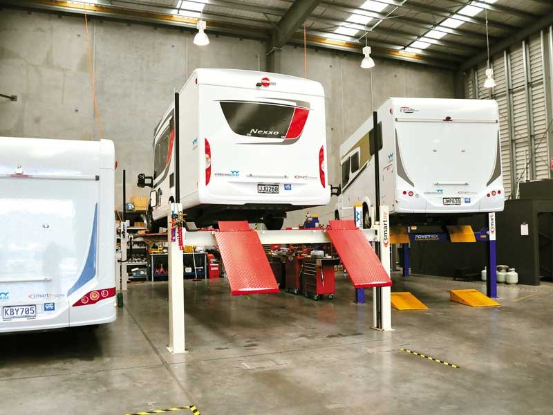 Motorhome inspections