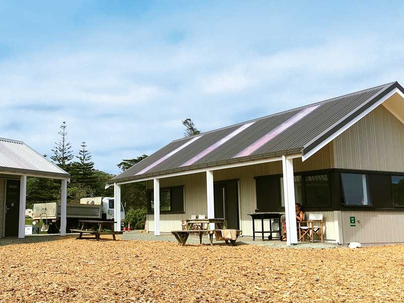 Muriwai Beach campground
