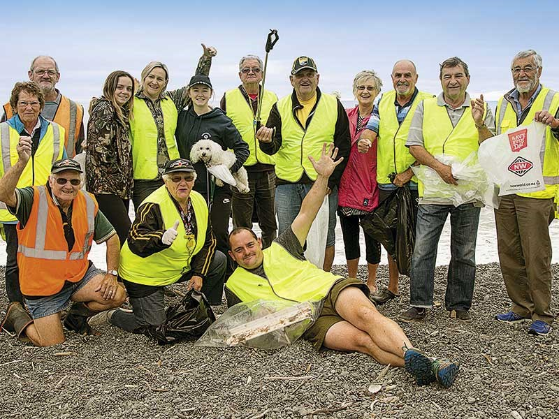 NZMCA members do their part for Motorhome Friendly Kaikoura