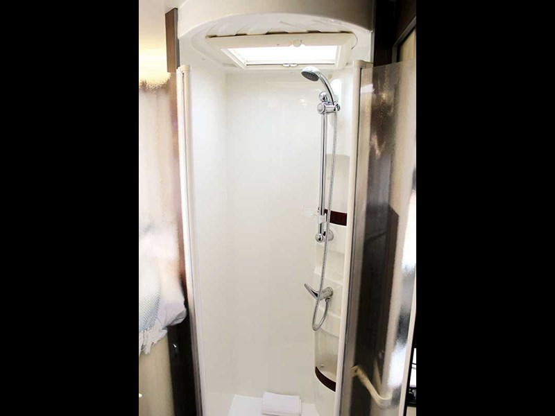 separate shower facility