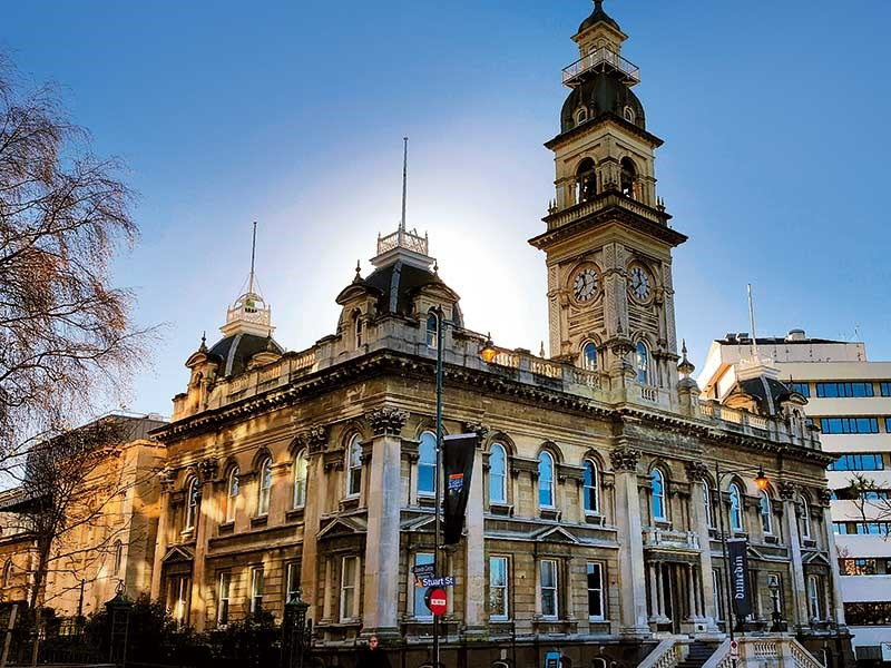 Dunedin Municipal Buildings