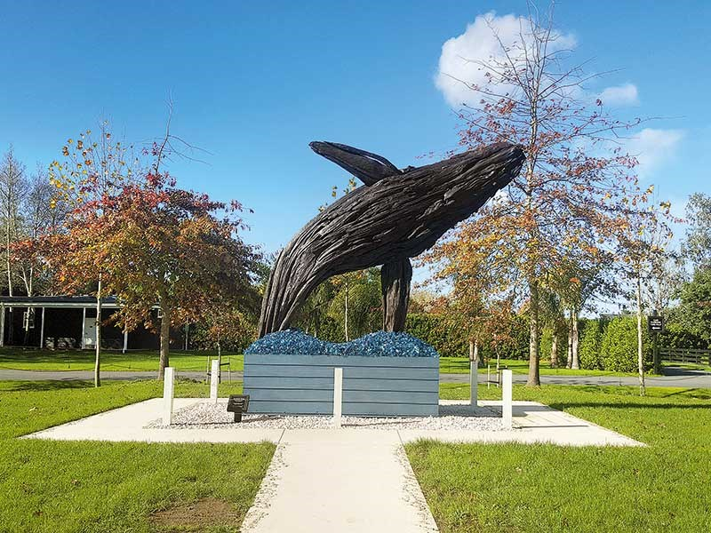 The Humpback Whale by Kiwi artist Jack Marsden Mayer