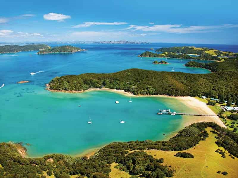 Urupukapuka Island PHOTO Tourism New Zealand