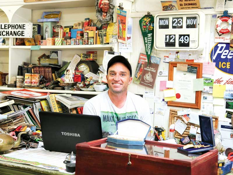 Mat Gregory, the friendly face at Bay Country Antiques