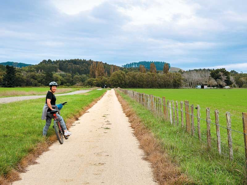 Cycling Hawke's Bay's Tukituki trail