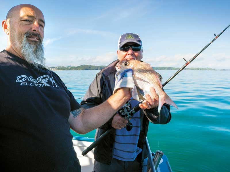 Fishing snapper at Mangonui
