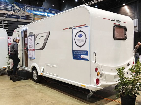 Four of a kind: comparing Elddis, Bailey, Burstner and Coachman caravans