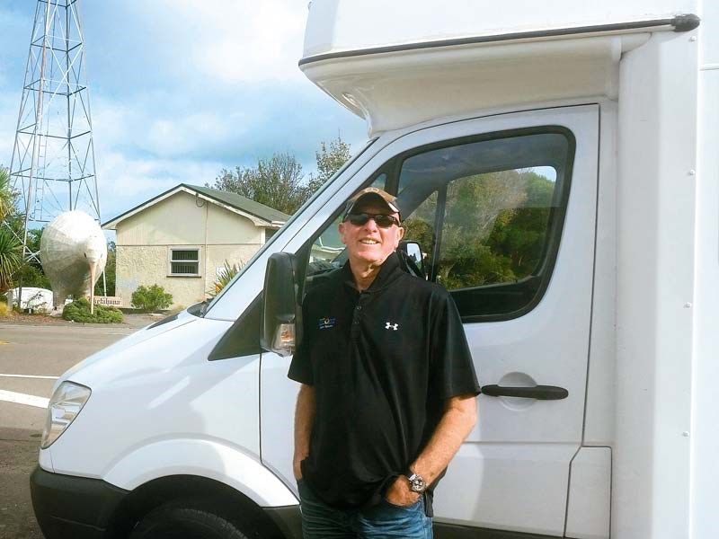 Coast DJ Brian Kelly's motorhome adventure