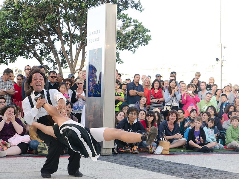 Auckland International Buskers Festival 2015