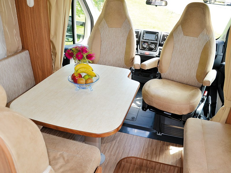 Motorhome review: Carado T449