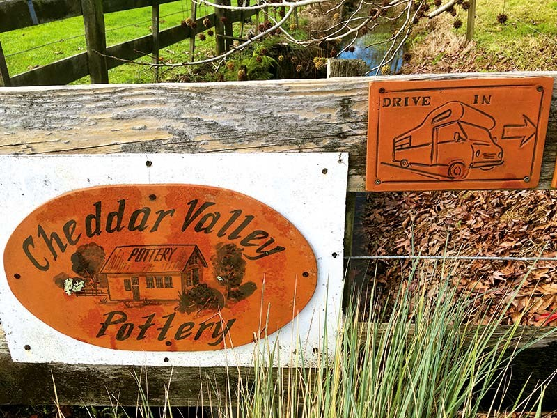 Pottering around the Cheddar Valley Dairy Factory