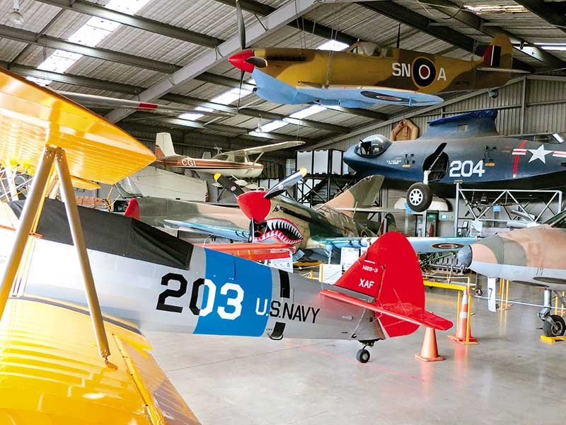The Classic Flyers Museum in Tauranga