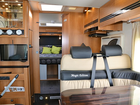 Motorhome review: Dethleffs 7.35m Magic SE