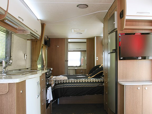 Caravan review: Leisure Line 7.3 Platinum