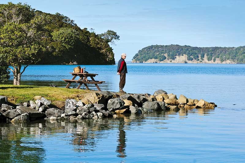 Exploring Mahurangi Harbour by motorhome